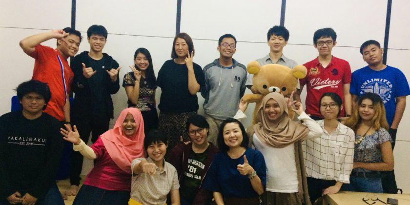 【インドネシア大学】日本語学校会話クラス開催