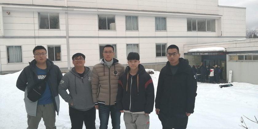 【活動報告】中国人インターンシップ生の受け入れ